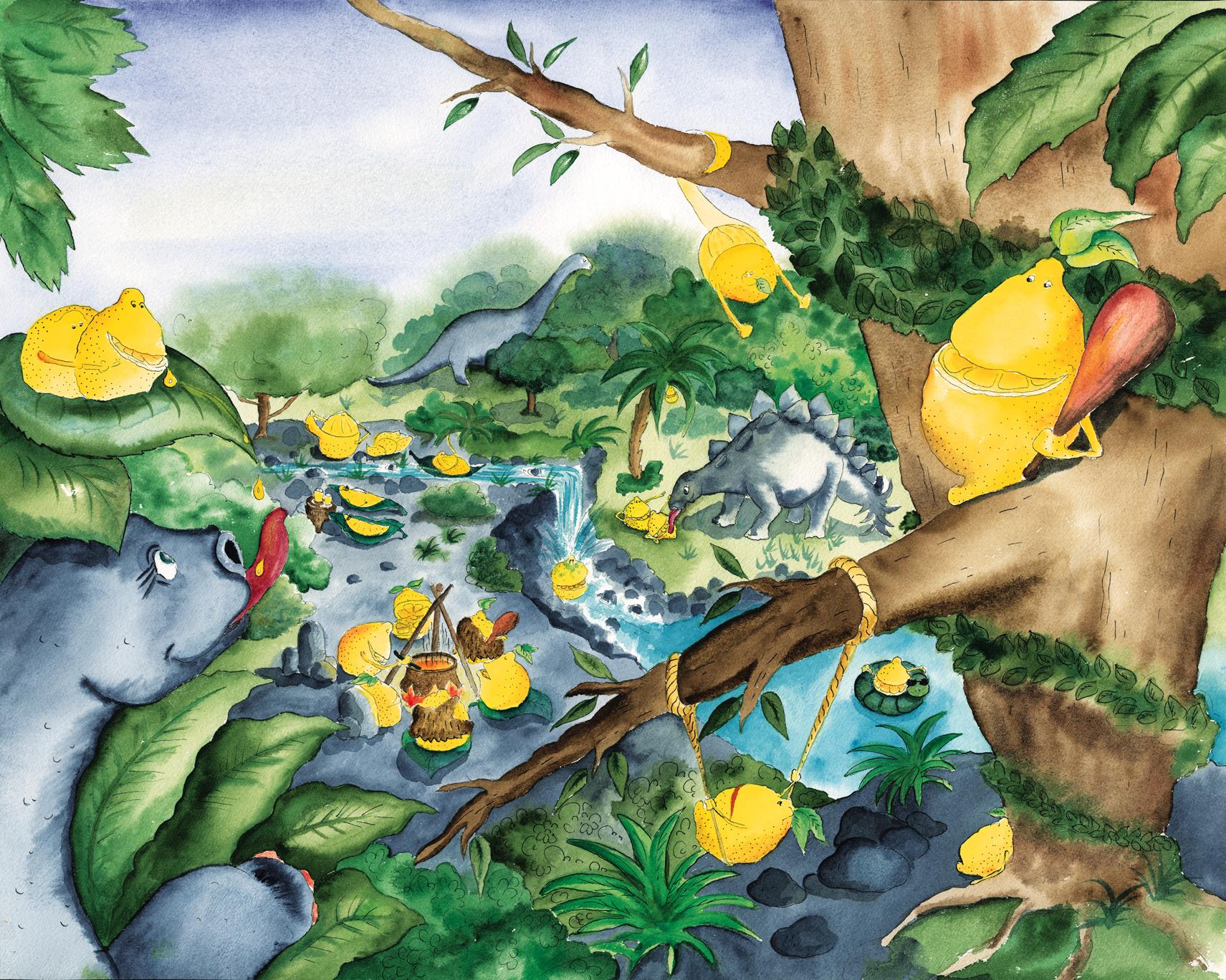Als Die Zitronen Sauer Wurden Gedicht Von Heinz Erhardt